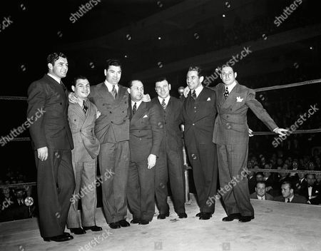 Editorial picture of Boxing Greats, New York, USA