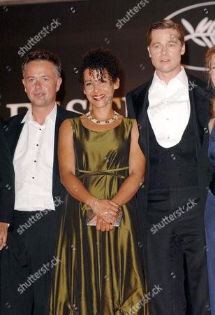 Michael Winterbottom, Mariane Pearl and Brad Pitt