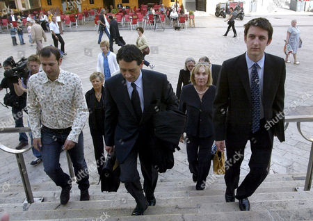 Editorial photo of 10th Earl of Shaftesbury murder trial, Nice, France - 22 May 2007