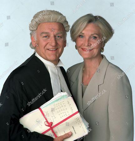 John Thaw and Sheila Hancock in 'Kavanagh QC' - 1996