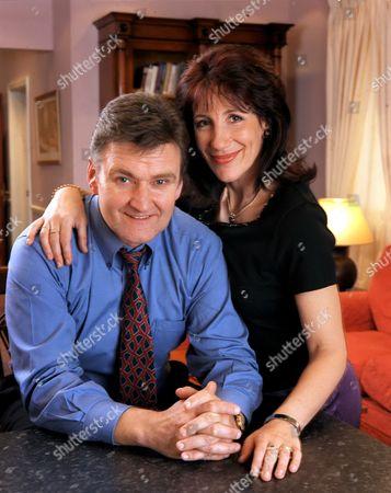 Neil McCaul and Jane Gurnett in 'Crossroads' - 2002.