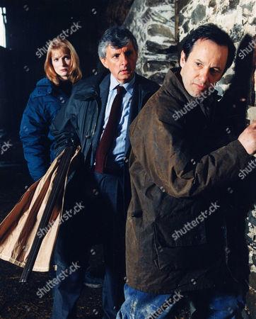 Helen Masters, Jack Shepherd and John Bowler in 'Wycliffe' - 1994