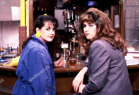 Emma Wray and Liza Tarbuck in 'Watching' - 1997
