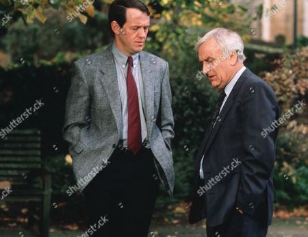 Kevin Whately and John Thaw in 'Morse' - 2000 Episode: 'Masonic Mysteries'