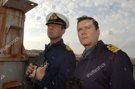 'Ghostboat' - 2006  Picture:Captain Byrnes (Julian Wadham) and Commander Travis (Ian Puleston-Davis)