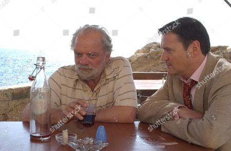 'Ghostboat' - 2006  Picture: Hardy (David Jason) and Commander Travis (Ian Puleston-Davis)