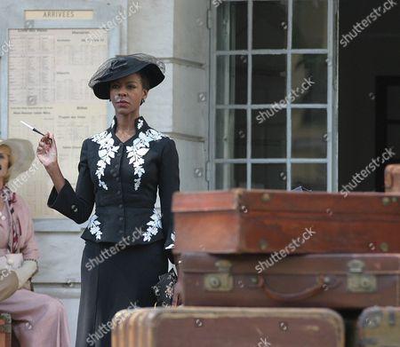 Poirot - 'The Mystery of the Blue Train' 2005 - Josette Simon,