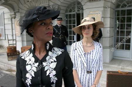 Poirot - 'The Mystery of the Blue Train' 2005 - Josette Simon, Georgina Rylance,
