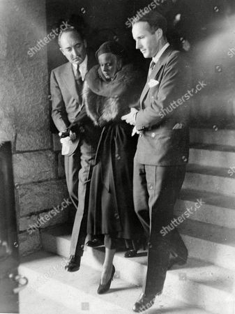 Jean Harlow, Marion Bello, Donald Robertson Screen star Jean Harlow, is helped from Grace Chapel in Inglewood, Calif., after funeral services for her husband of two months, Paul Bern, film executive. Escorting her are her father-in-law Marion Bello, left, and Donald Robertson