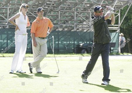 Editorial picture of BMW PGA Pro-Am Golf Championship, Wentworth, Surrey, Britain - 23 May 2007