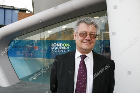 Allan Jones, Head of the London Climate Change Agency photographed at the London Development Agency where he's based.  He was partly instrumental  in setting up the fuel cell and private wire facilities in the town of Woking.