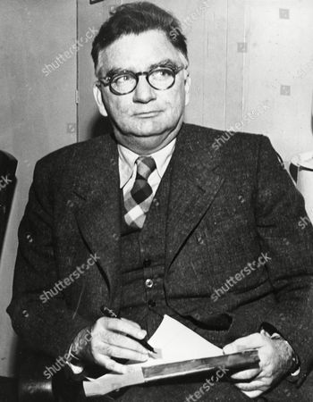 Stock Image of Cain James M. Cain, author and screenwriter, is shown on