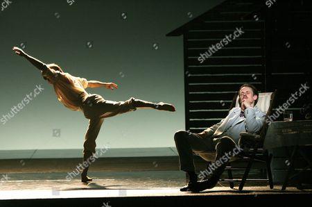 'Death in Venice'  performed by the English National Opera Benjamin Paul Griffiths ( Tadzio ) Ian Bostridge ( Gustav von Aschenbach )