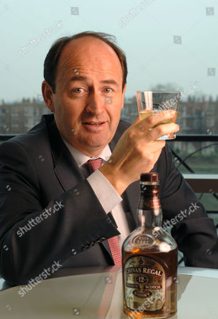 Christian Porta, Chairman and C.E.O. of Chivas Brothers, the scotch whisky and premium gin business of Pernod Ricard