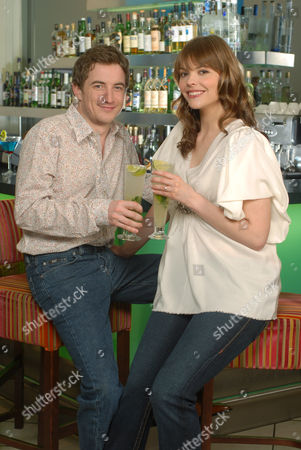 Editorial picture of Kate Ford and her fiance Jon Connerty at the Cannizaro House hotel, London, Britain - 17 Apr 2007