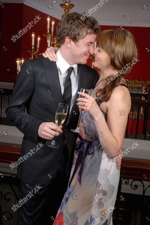 Editorial image of Kate Ford and her fiance Jon Connerty at the Cannizaro House hotel, London, Britain - 17 Apr 2007