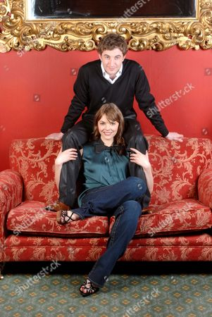 Kate Ford and her fiance Jon Connerty