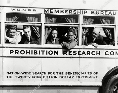 Editorial picture of U.S. ALCOHOL PROHIBITION, NEW YORK, USA