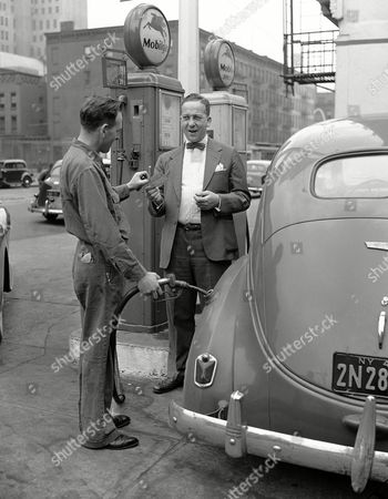 Editorial picture of WWII US Gas Rationing, New York, USA