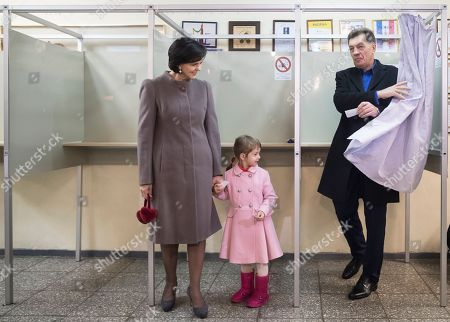 Editorial photo of Lithuania Election, Vilnius, Lithuania - 23 Oct 2016