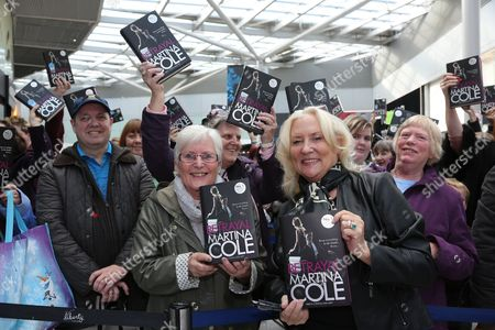 Fans at the Liberty Centre