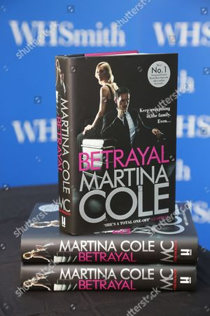 Martina Cole book 'Betrayal'
