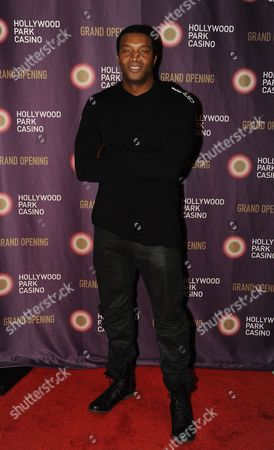 Roger Cross Actor Roger Cross is seen on the red carpet at Hollywood Park Casino grand opening festivities, in Inglewood, Calif