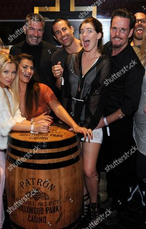 Kevin Dillon Actor Kevin Dillon and friends enjoy libations in Hollywood Park Casino's Raise Lounge, in Inglewood, Calif