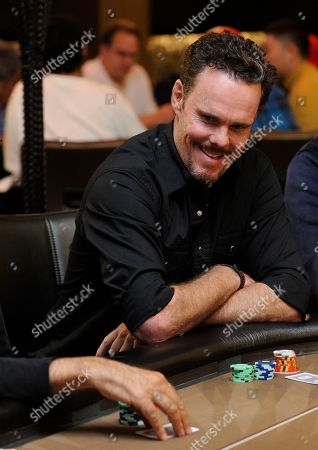Kevin Dillon Actor Kevin Dillon takes part in the Hollywood Park Casino Celebrity Poker Tournament in partnership with Rock the Vote, in Inglewood, Calif