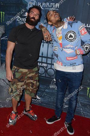 Dan Bilzerian and Chris Brown