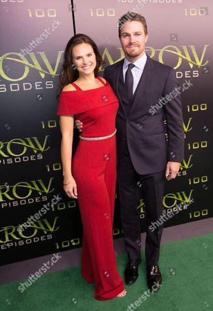 Cassandra Jean and Stephen Amell