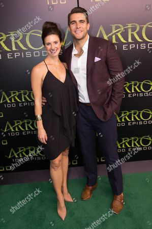 Editorial photo of 'Arrow' TV series 100th Episode Celebration, Vancouver, Canada - 22 Oct 2016