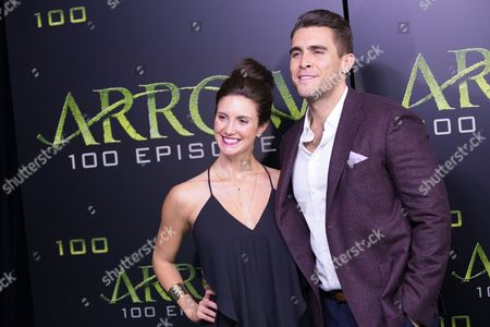 Editorial image of 'Arrow' TV series 100th Episode Celebration, Vancouver, Canada - 22 Oct 2016