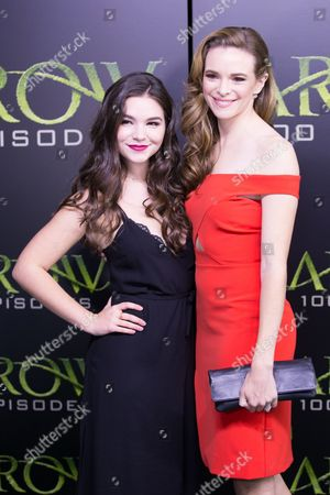 Editorial picture of 'Arrow' TV series 100th Episode Celebration, Vancouver, Canada - 22 Oct 2016