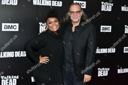 Editorial photo of AMC presents 'Talking Dead' special edition for 'The Walking Dead' Season 7 TV series, Los Angeles, USA - 23 Oct 2016