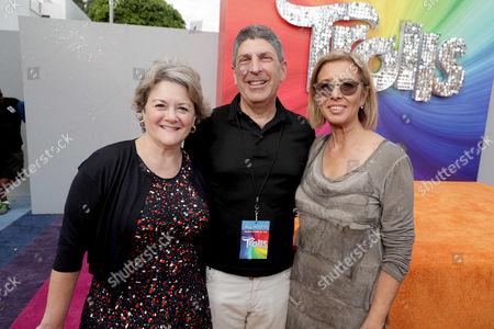Bonnie Arnold, Jeff Shell, Mireille Soria