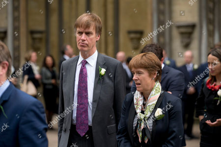 MP Stephen Timms who was stabbed by a woman during a constituency surgery in 2010, arrives at St Margaret's Church in London, for a service of prayer and remembrance to commemorate Jo Cox, the 41-year-old Member of Parliament shot to death last week in northern England. The mother of two was shot to death Thursday afternoon in her constituency near Leeds. The man charged with her slaying made a brief appearance in court by video link from prison Monday