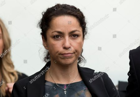 Former Chelsea team doctor Eva Carneiro arrives at the Croydon Employment Tribunal in Croydon, south London, . Carneiro is claiming constructive dismissal against the Premier League club FC Chelsea. Jose Mourinho will be expected to testify at an employment tribunal about his public clash with Chelsea's club doctor after she rejected more than $1.5 million to settle the case