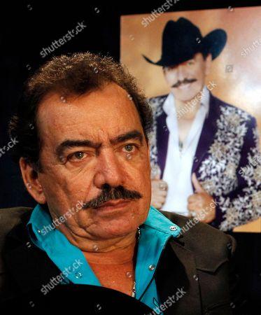 Editorial picture of Music Joan Sebastian Lucero, Mexico City, Mexico