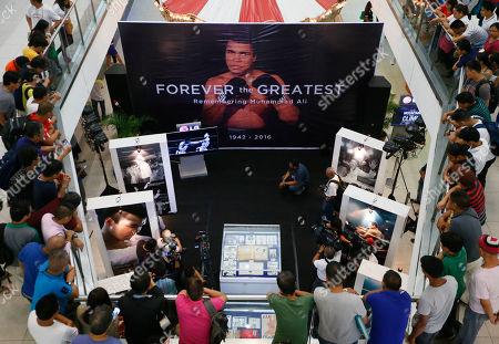 Editorial image of Philippines Muhammad Ali Tribute, Quezon, Philippines