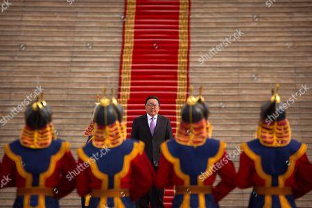 Tsakhiagiin Elbegdorj Mongolia's President Tsakhiagiin Elbegdorj inspects an honor guard before a welcome ceremony for South Korea's President Park Geun-hye in Ulaanbaatar, Mongolia