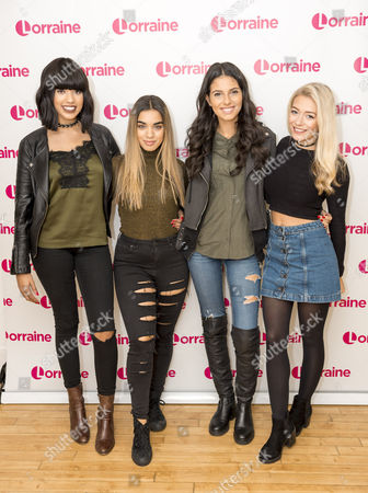 Four of Diamonds - Yasmin Lauryn, Caroline Alvares, Sophia Saffarian, Lauren Rammell