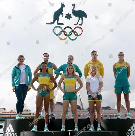 Editorial image of Australia Olympic Uniforms, Sydney, Australia