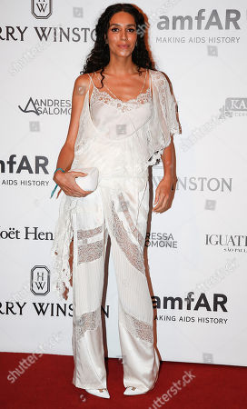 Lea T Brazilian transgender model Lea T. poses on the red carpet of The Foundation for AIDS Research (amfAR) event in Sao Paulo, Brazil