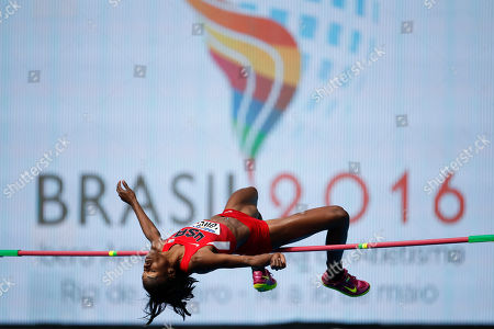 Chaunte Lowe United States' Chaunte Lowe competes in the women's high jump during the Athletics test event at the Rio Olympic Stadium in Rio de Janeiro, Brazil, . The track and field test event is the last of more than 40 tests events for the Rio de Janeiro Olympics with the games opening in less than three months. The three-day test event ends Monday at Olympic Stadium in the northern neighborhood known as Engenho de Dentro