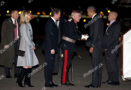Editorial photo of Britain Obama, Stansted, United Kingdom