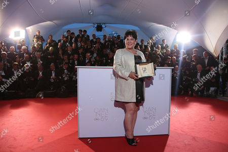Jaclyn Jose Actress Jaclyn Jose pose for photographers with her Best Actress award for her role in the film Ma' Rosa during the photo call following the awards ceremony at the 69th international film festival, Cannes, southern France