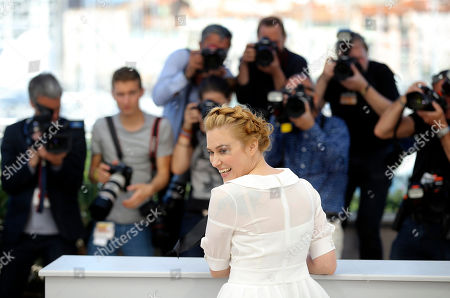 Actress Malina Manovici poses for photographers during a photo call for the film Bacalaureat at the 69th international film festival, Cannes, southern France