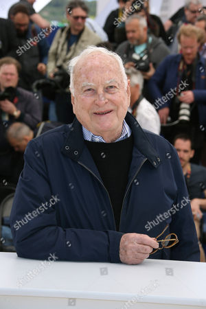 Director Jim Ivory poses for photographers, during a photo call for the film Howards End, at the 69th international film festival, Cannes, southern France