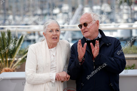 Actress Vanessa Redgrave, left and director Jim Ivory attend a photo call for the film Howards End, at the 69th international film festival, Cannes, southern France
